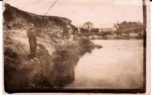 Речка Молчадка, баня, лет 50 назад